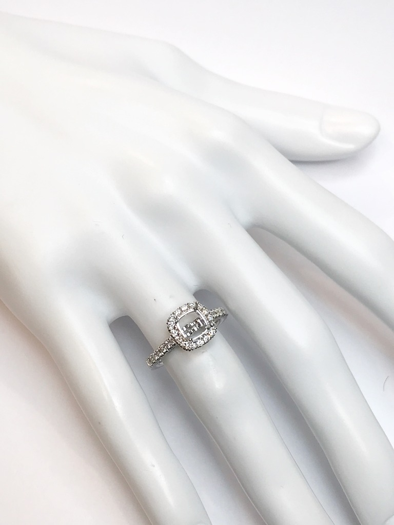 Diamond Semi-Mount Rings - Engagement Ring  - image #4
