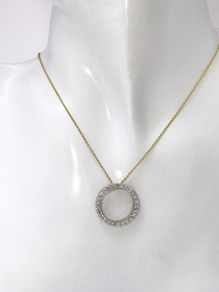 Diamond Necklaces - Necklace - image #2