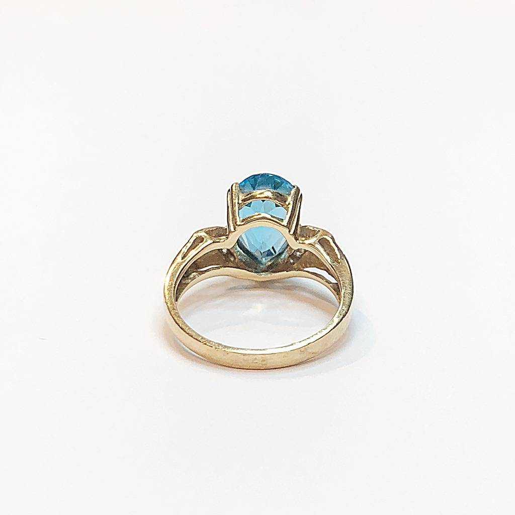 Women's Colored Stone Rings - Fashion Ring - image #3