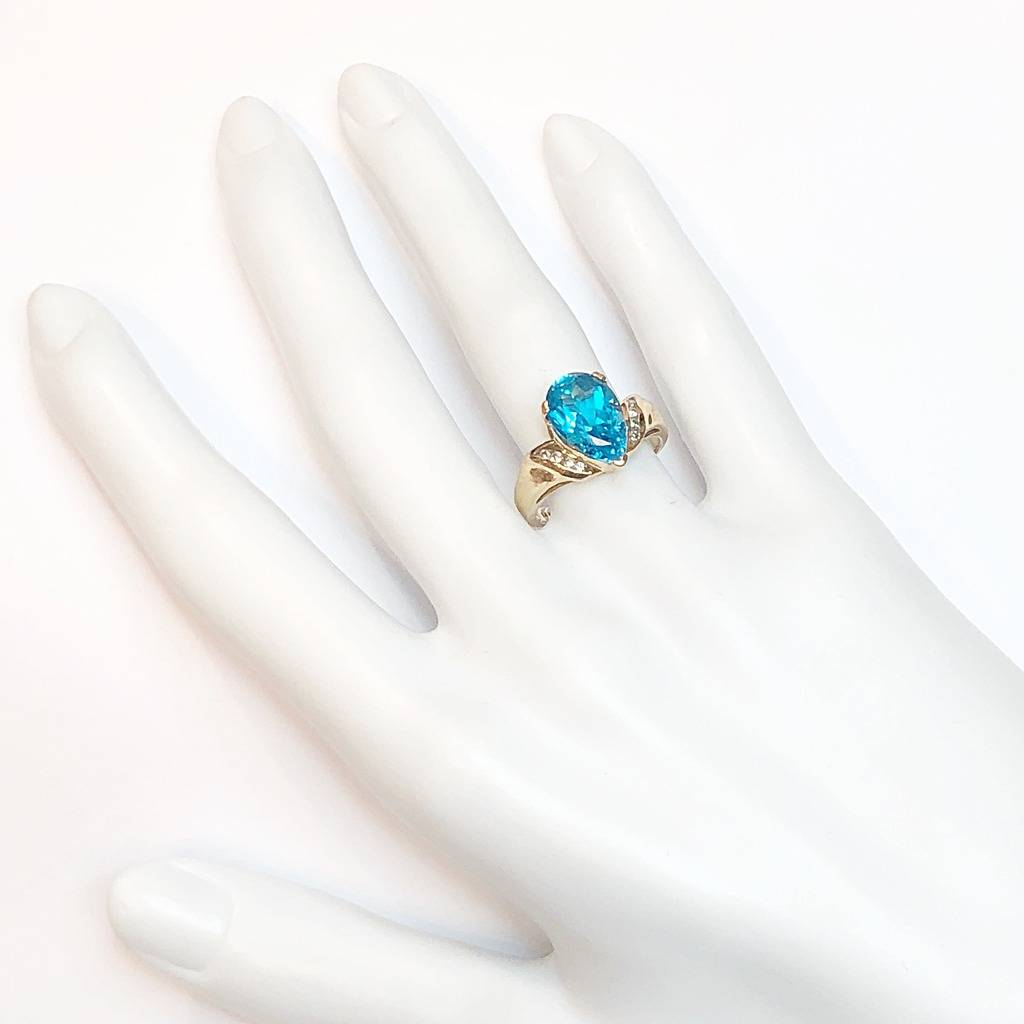 Women's Colored Stone Rings - Fashion Ring - image #4