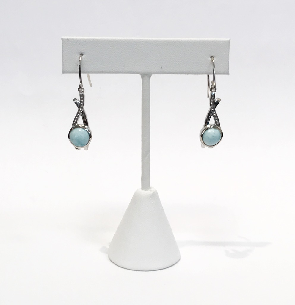 Colored Stone Earrings - Earrings - image #4
