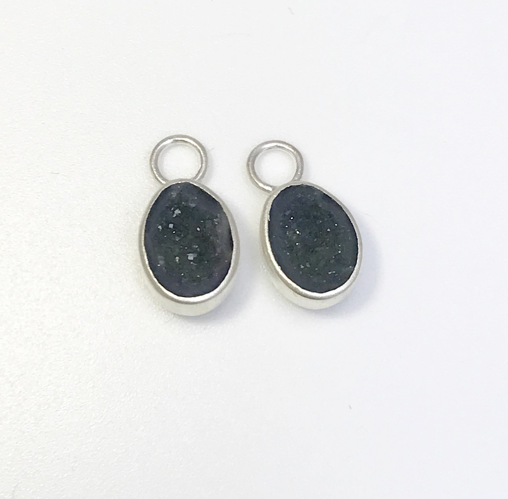 Colored Stone Earrings - Earrings