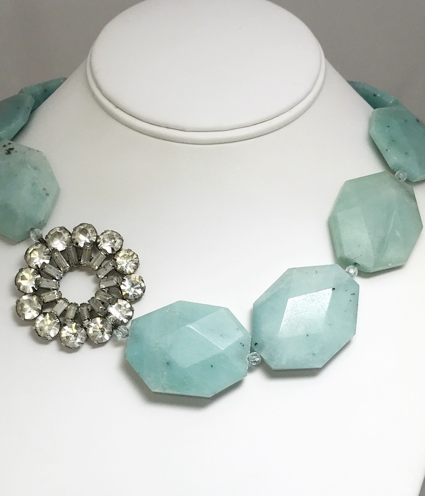 Colored Stone Necklaces - Necklace - image #2