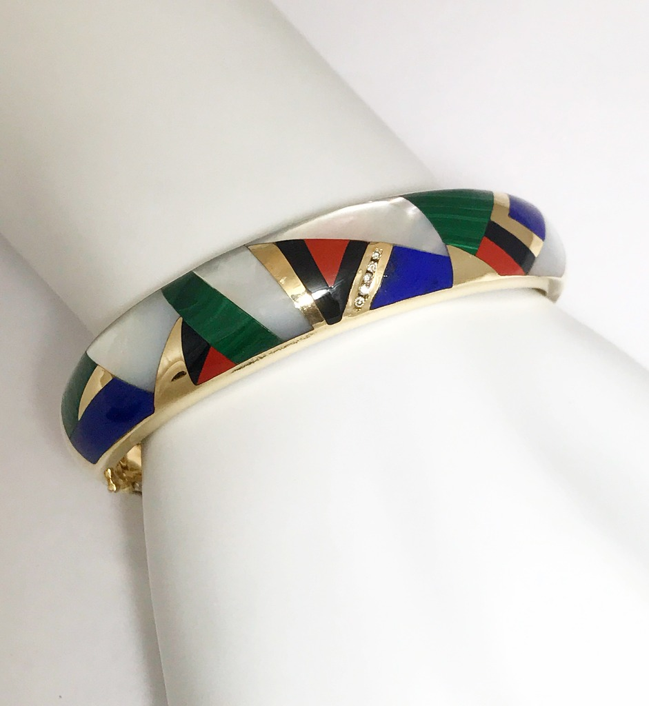Colored Stone Bracelets - Bracelet - image #3