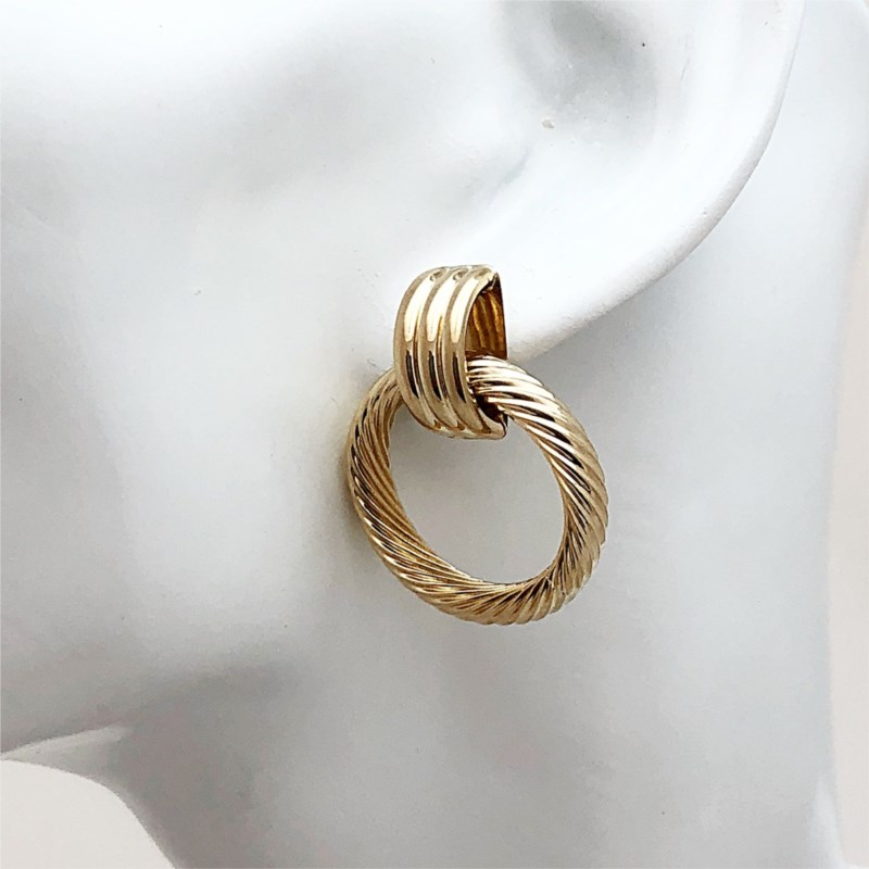 Gold Earrings - Earrings - image #2