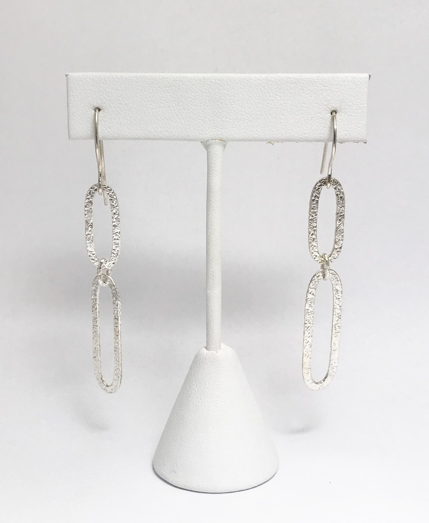 Silver Earrings - Earrings - image #2
