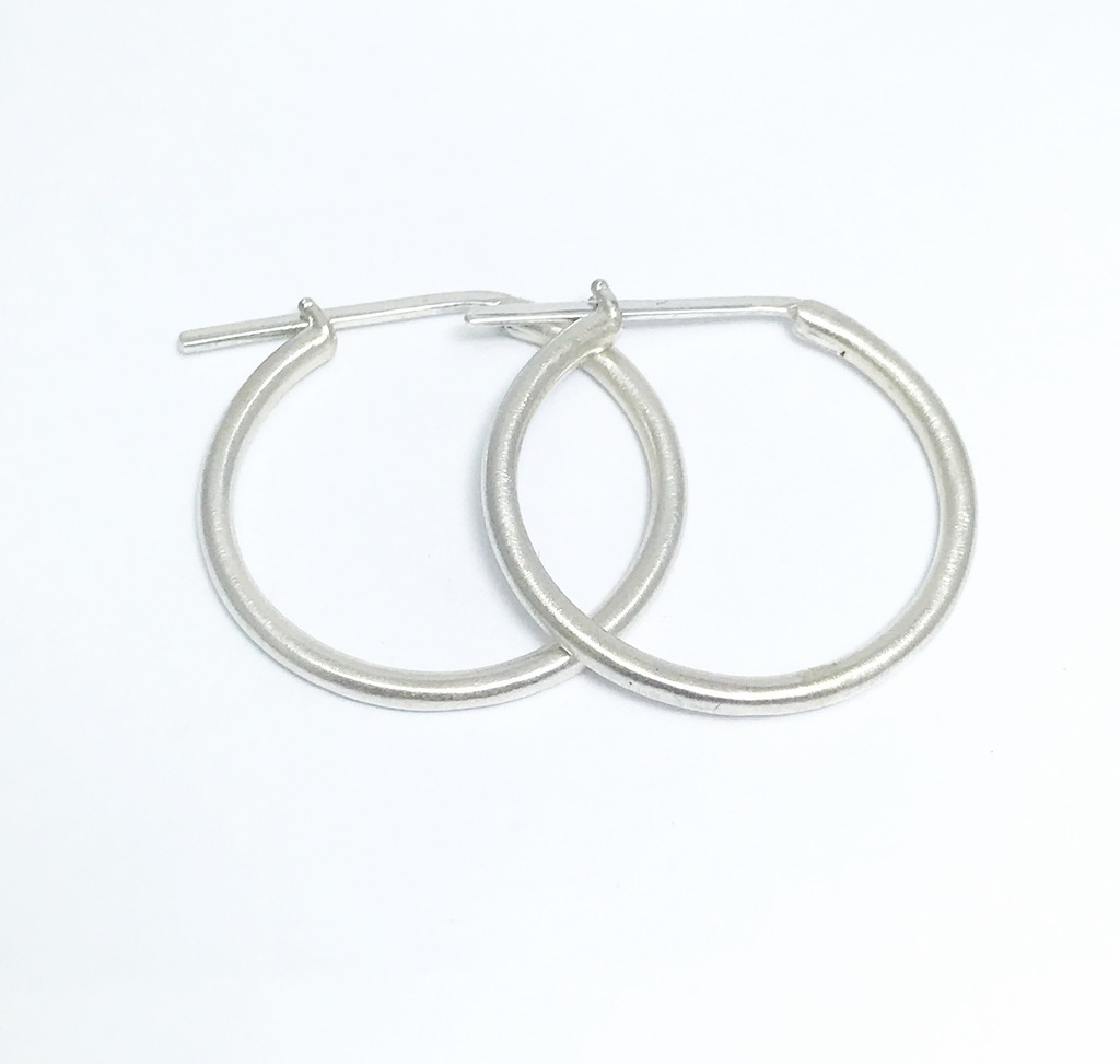 Silver Earrings - Earrings