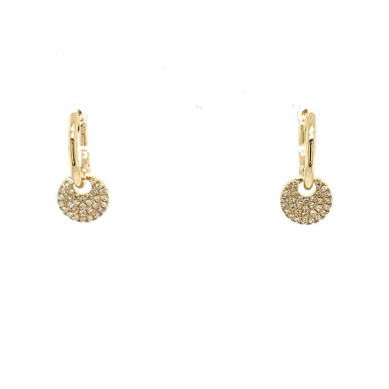 Diamond Earrings - Diamond Huggies