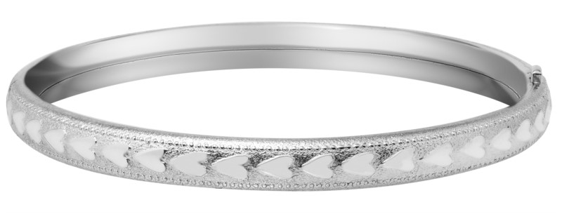 Children's Bracelets - Sterling Silver Baby Bangle