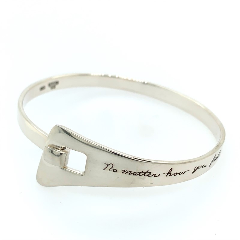Ladies Silver Bracelets - Sterling Silver Bangle