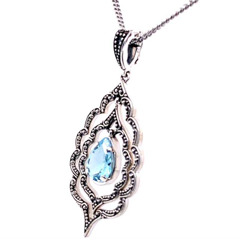 Silver Charms/pendants - Sterling Silver Pendant - image #2