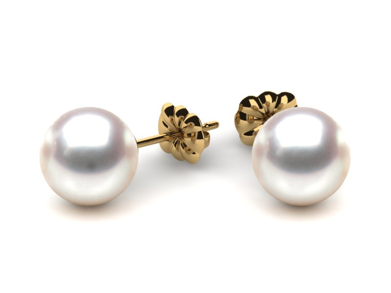Pewter Plated Jewelry 001 312 00064 Pearl Earrings From Valentine S Fine Dallas Pa