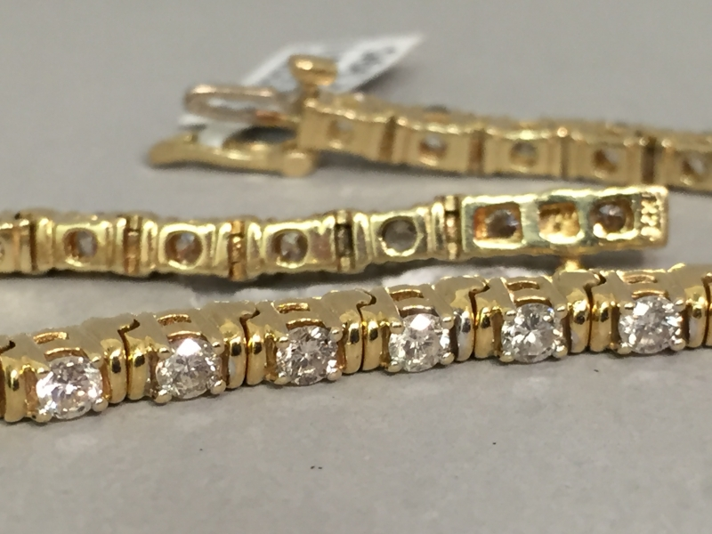 Estate - Diamond Bracelet - image #2