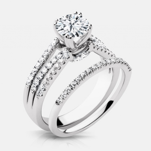 Diamond Engagement Rings - 1.29ct tw Engagement Ring - image #2