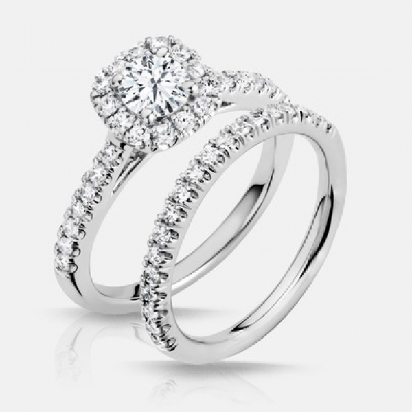 Explore beautifully-crafted diamond engagement rings and settings with expert guidance every step of the way.  Sto - image #3