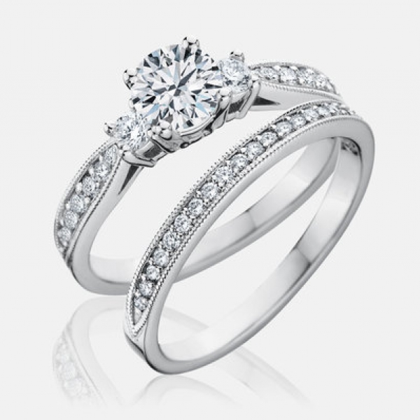 Explore beautifully-crafted diamond engagement rings and settings with expert guidance every step of the way.  Sto - image #2
