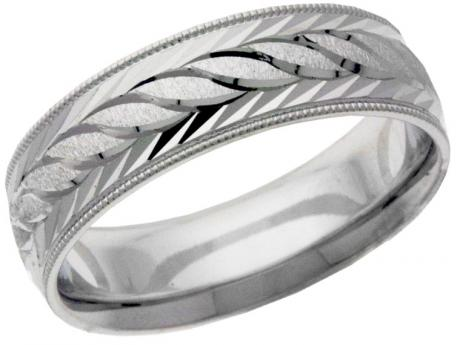 Wedding - Prices starting at $391 - Customize your wedding band to fit your style. The wedding bands are available in not only 10k, 14k and 18k gold but also in yellow, white and rose, or any combination of these colors. It is also available in an array of finishes and m/m widths. Your wedding band will truly compliment your unique style!